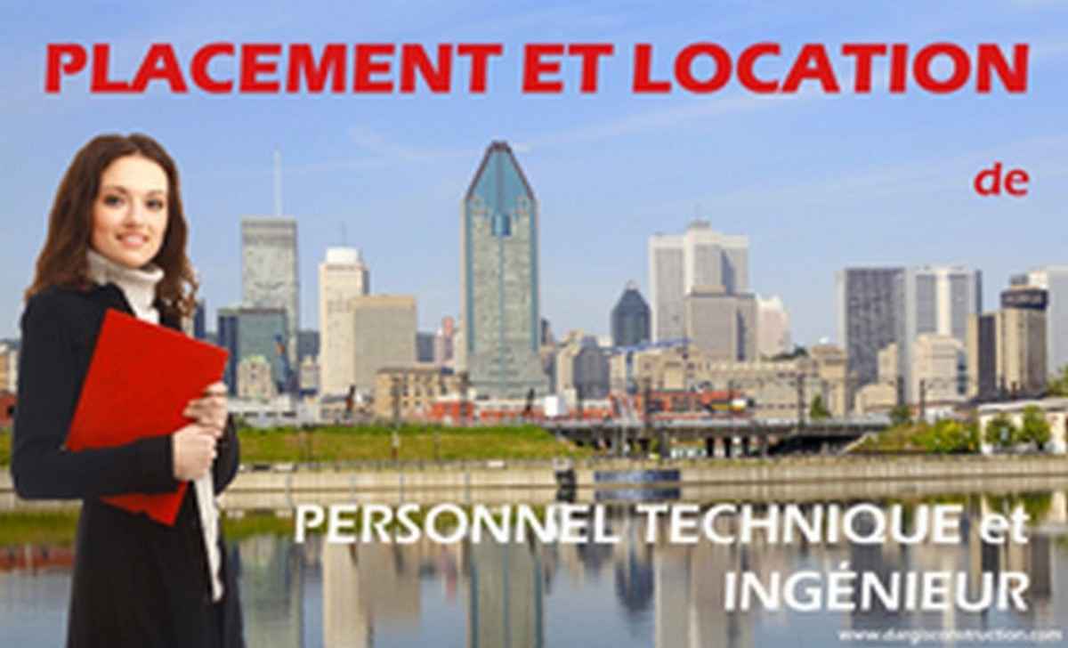 formation placement-location-de-personnel-technique-ingenieur-montreal quebec canada