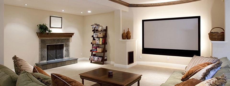 Entrepreneur en renovation de sous sol a montreal basement for Formation decoration interieur montreal