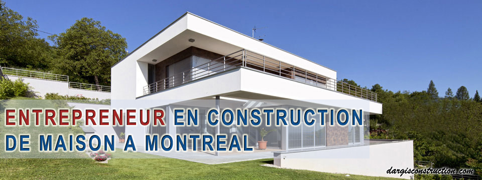 entrepreneur general construction constructeur maison