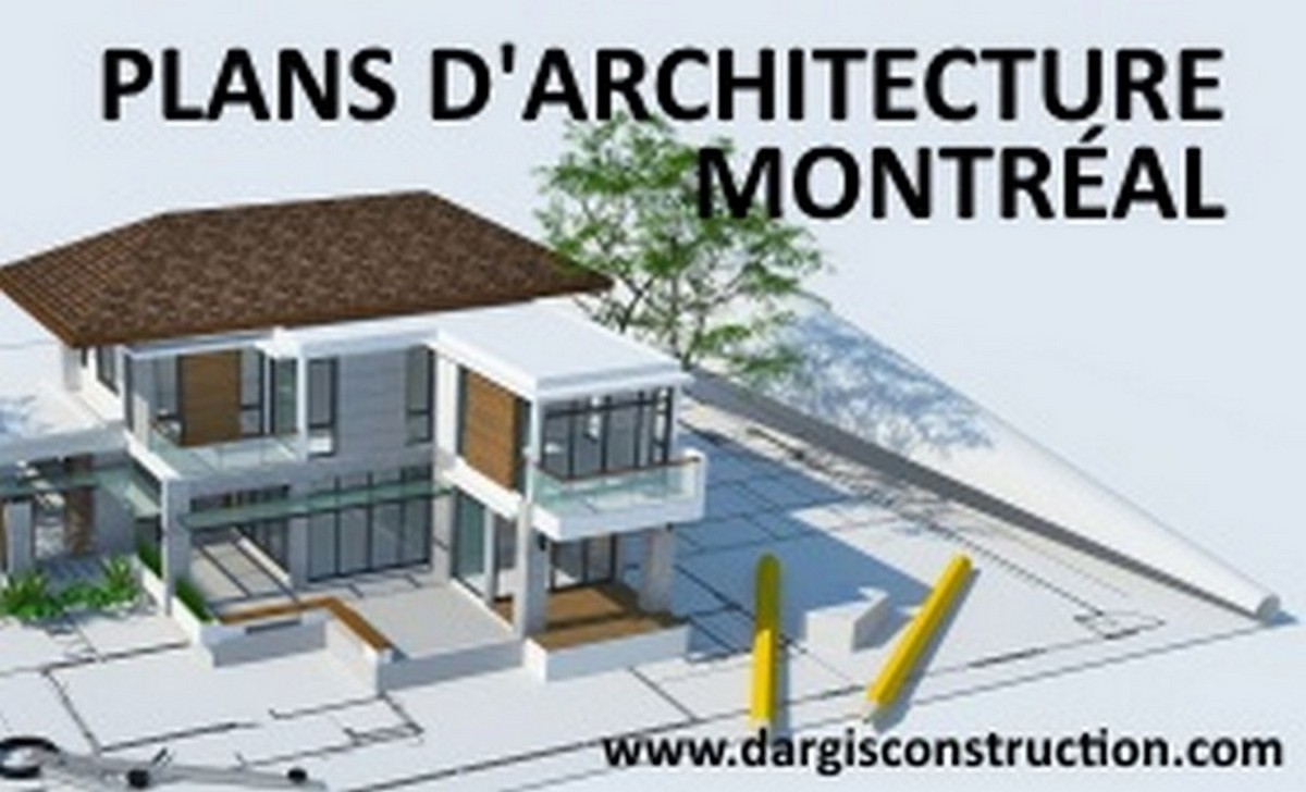 Plan architecte ou technologue architecture maison montreal
